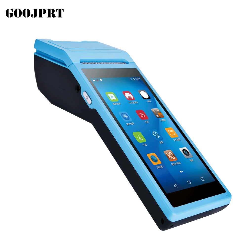 Handheld Pos Computer Android PDA With 5.5 inch Touch 3G Wifi Bluetooth(China)