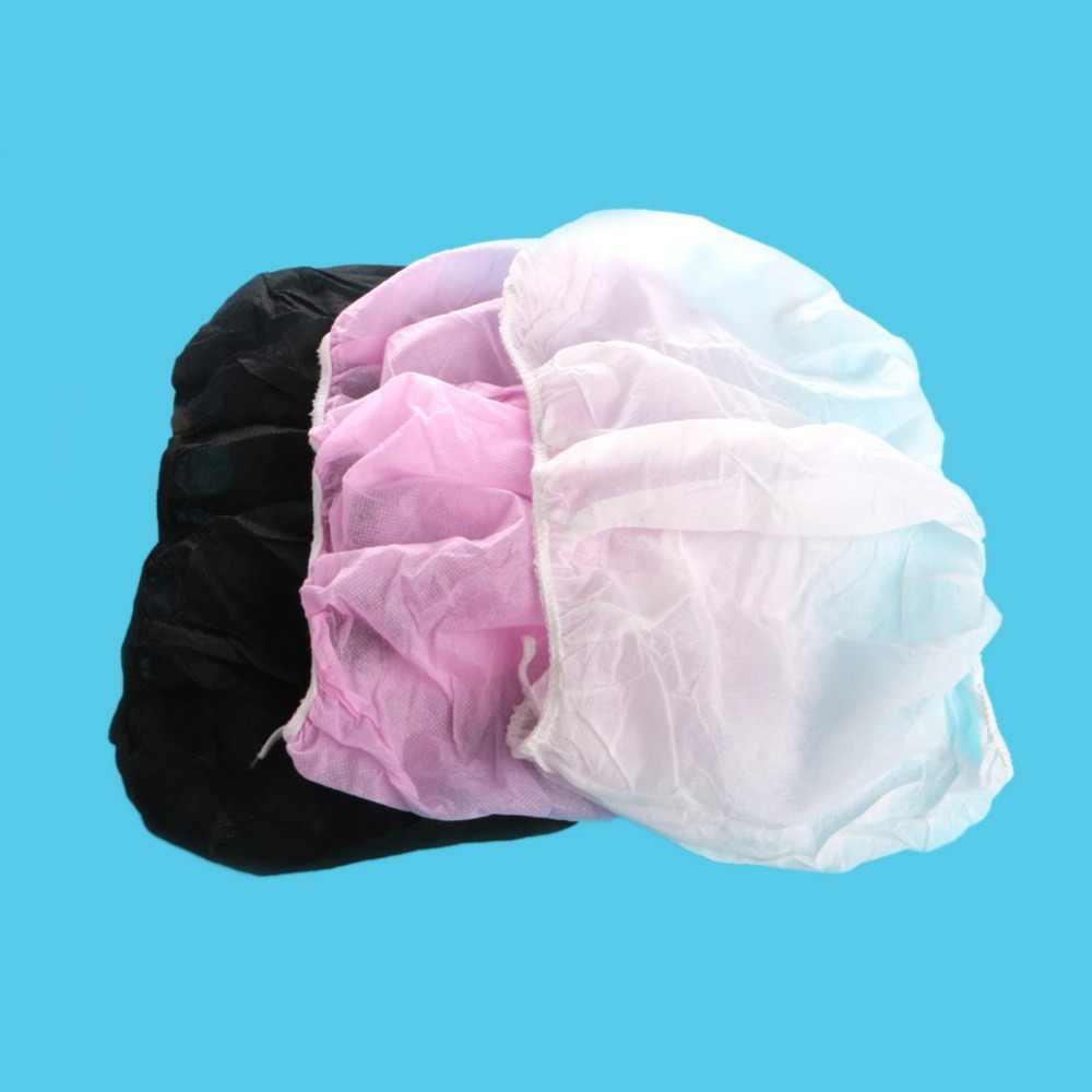 1 piezas mujeres desechable de papel no tejido sujetador sin tirantes para tratamientos de Spa blanco negro rosa