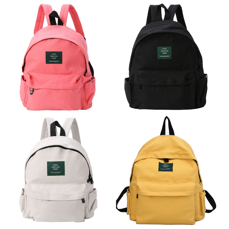 THINKTHENDO New Fashion Canvas Backpack Travel Small Rucksack Unisex Canvas Casual College School Bag Bookbags 2018 vintage canvas backpack fashion canvas rucksack daypack leisure college bag travel school bags unisex computer bag backpacks