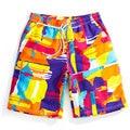 Новый Размер Плюс Свободные Quick Dry Ропа Playa De Para Hombre Мода Colorfull Boardshort Homme