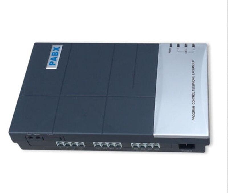 PABX CS + 208 avec 2 lignes Téléphoniques et 8Ext. système téléphonique PBX pour soho d'affaires