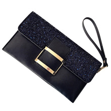 Gina Tang Women Ladies PU Lether Sequins Handbag Party Eveni