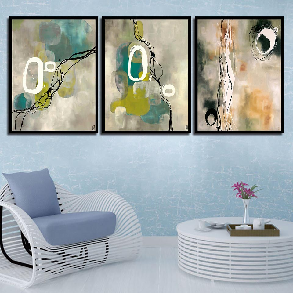 Direct Selling Abstract Canvas Painting Nordic Prints