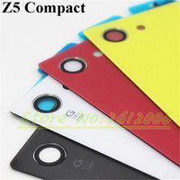 1Pcs For Sony Xperia Z5 Compact E5803 E5823 Back Glass Battery Door Housing Rear Back Cover