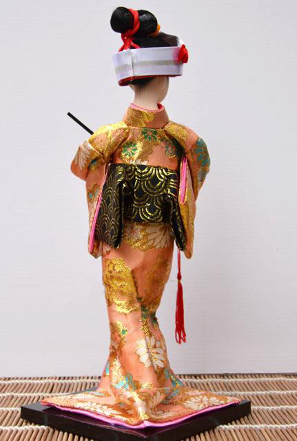 Lovely Hand made craft 30cm Beautiful Japan Geisha dolls Home Decration Creative gifts vintage home decor in Figurines Miniatures from Home Garden