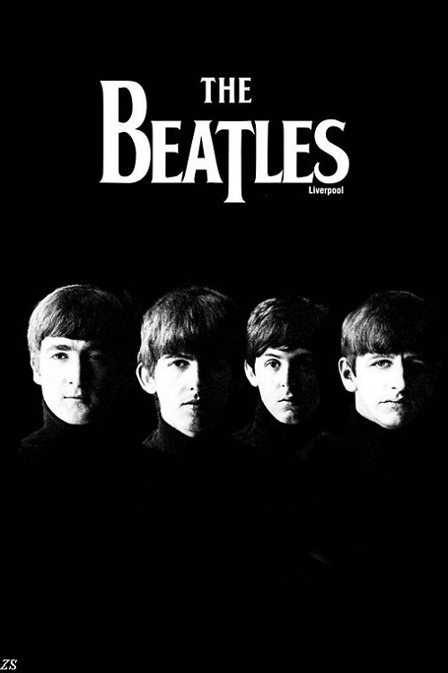 Qunexc The Beatles Silk Poster HD Big Modern Bedroom Home Decoration Classical Pop Rab Music Star Large Wall 24x36inch In Painting Calligraphy From