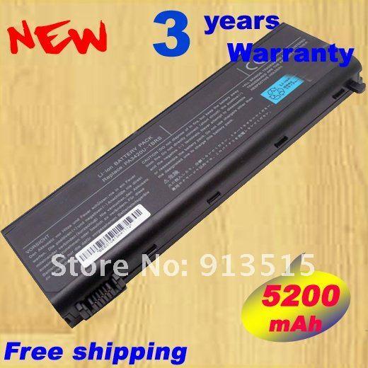 Wholesale New Laptop Battery For Toshiba,PA3420,3420,PA3420U-1BAC,PA3450U-1BRS,1BAS,1BRS,PABAS0598C,5200mAh,Freeshipping