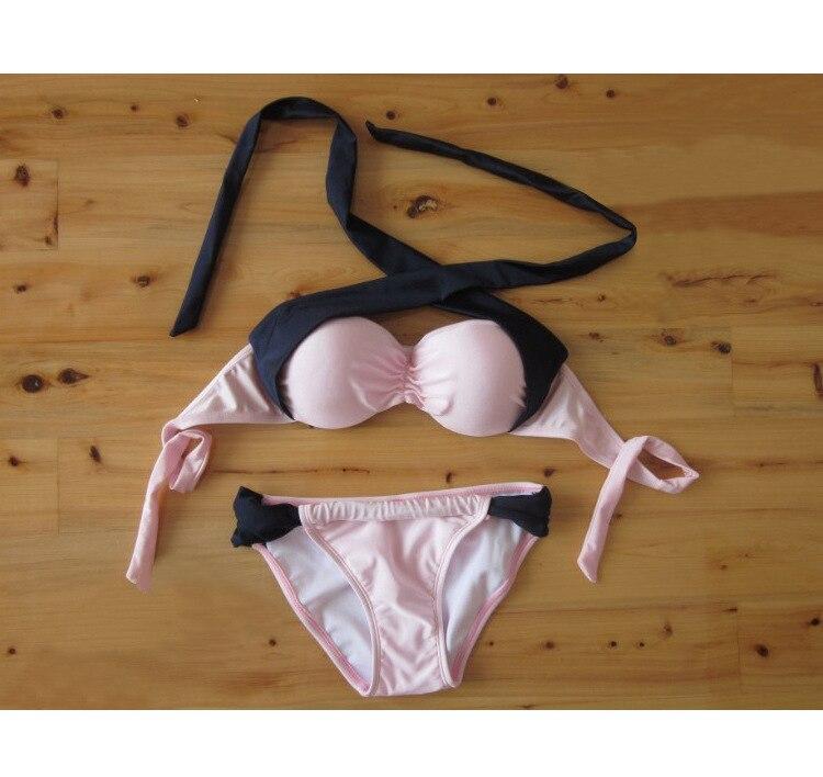 Hot The critical eye design Women's Swimwear Bikini Set Fahion Swimsuit Push Up Gather Chest VS Secret 2016 New