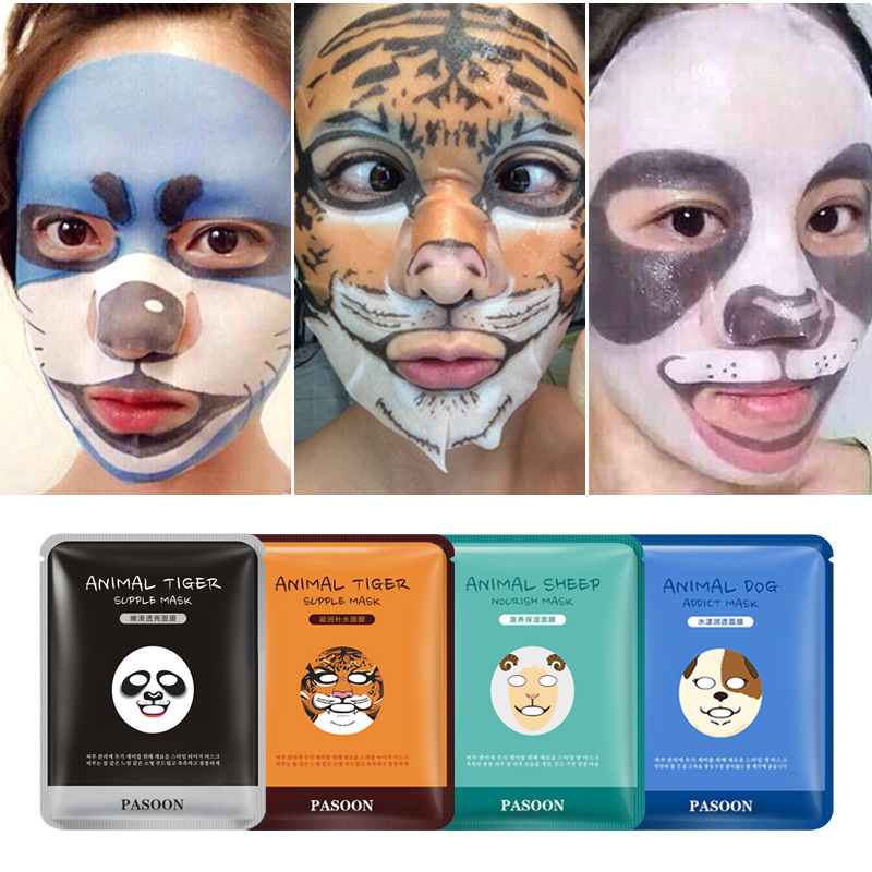 BIOAQUA Face Care Sheep/Panda/Dog/Tiger Moisturizing
