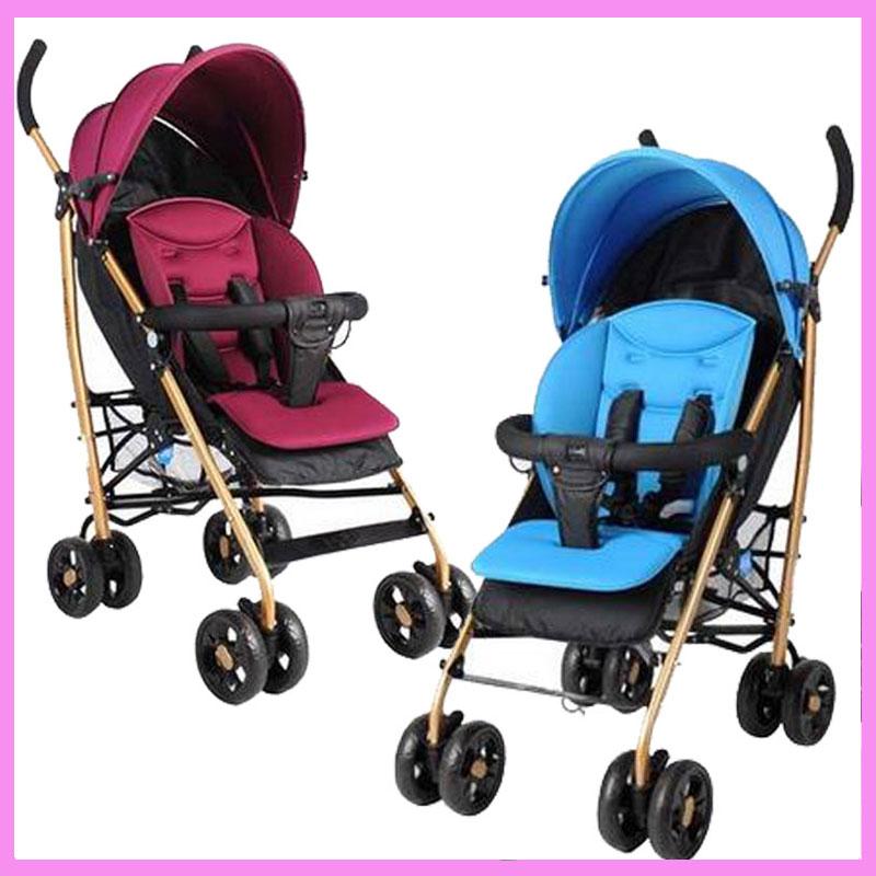 где купить Baby Strollers Brands Can Flat Lie Folding High Landscape Baby Umbrella Stroller Portable Lightweight Baby Pram Pushchair 7~36 M по лучшей цене