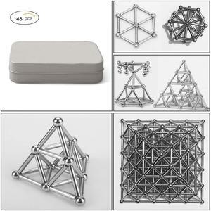 148pcs DIY Magnetic Building B
