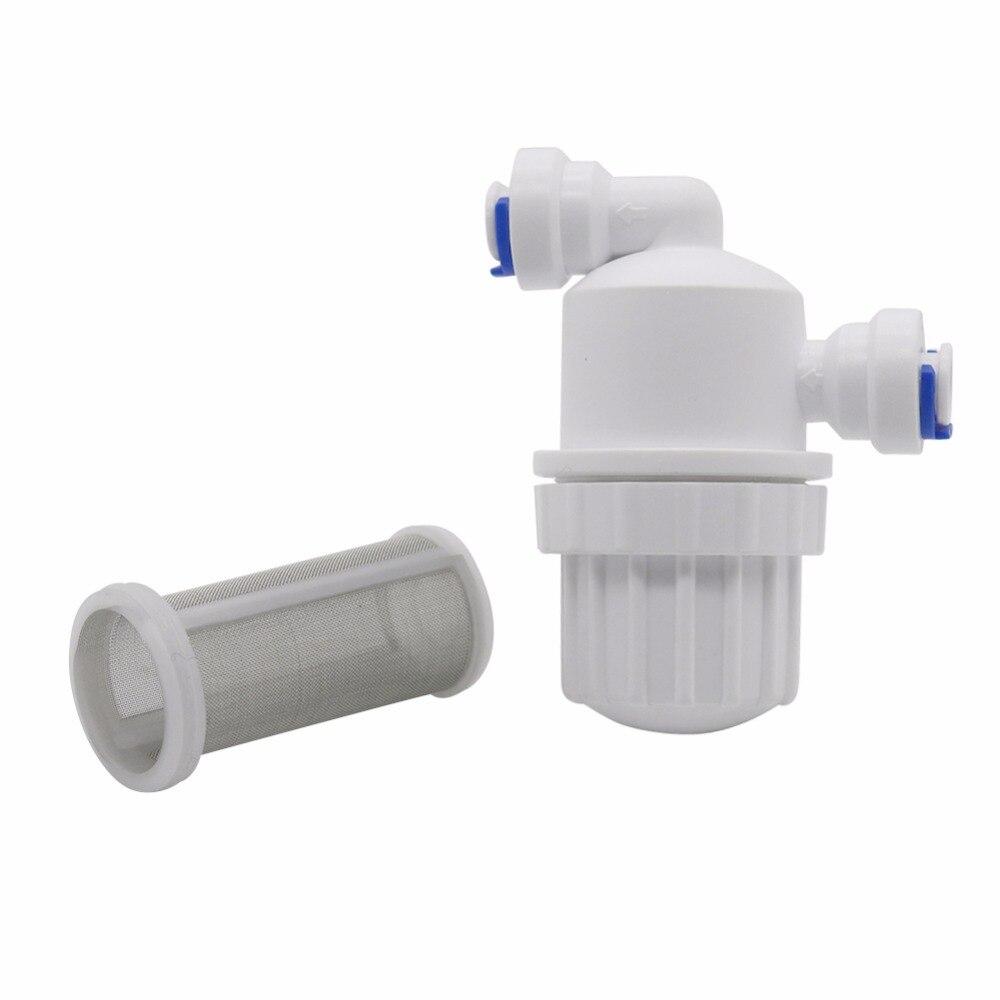 "HTB188jqisbI8KJjy1zdq6ze1VXaC 1Pcs 1/4"" Garden Water Filter Quick Access Micro-filter Water Purifier Front Stainless Steel Mesh Filters Home Garden Connectors"