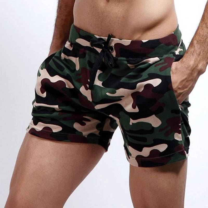 Men Basic Camouflage   Board     Shorts   Home Leisure Beach Sport   Short   Casual beach   Short   Pants with Pocket