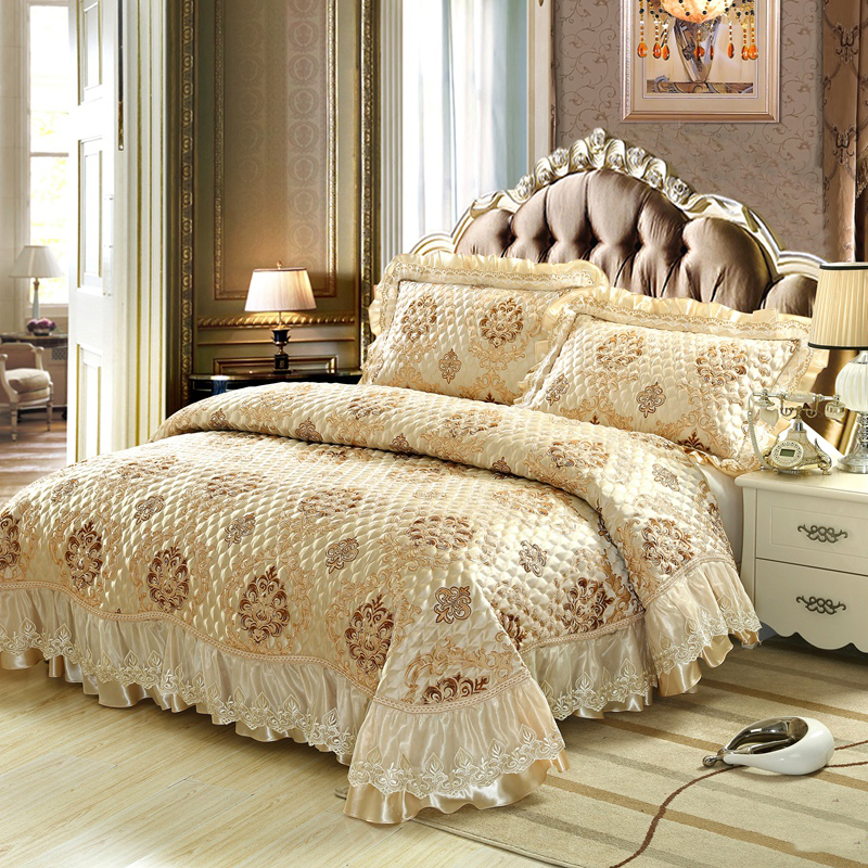100% Cotton Washed Europe type jacquard 13 style 3/piece Bed Cover set High end Bedclothes bedding set bedspread  jacquard bedding set 7 pieces | Northern Nights Jacquard Reversible 6 or 7 Piece Comforter Set on QVC 100 Cotton Washed Europe type font b jacquard b font 13 style 3 font b piece