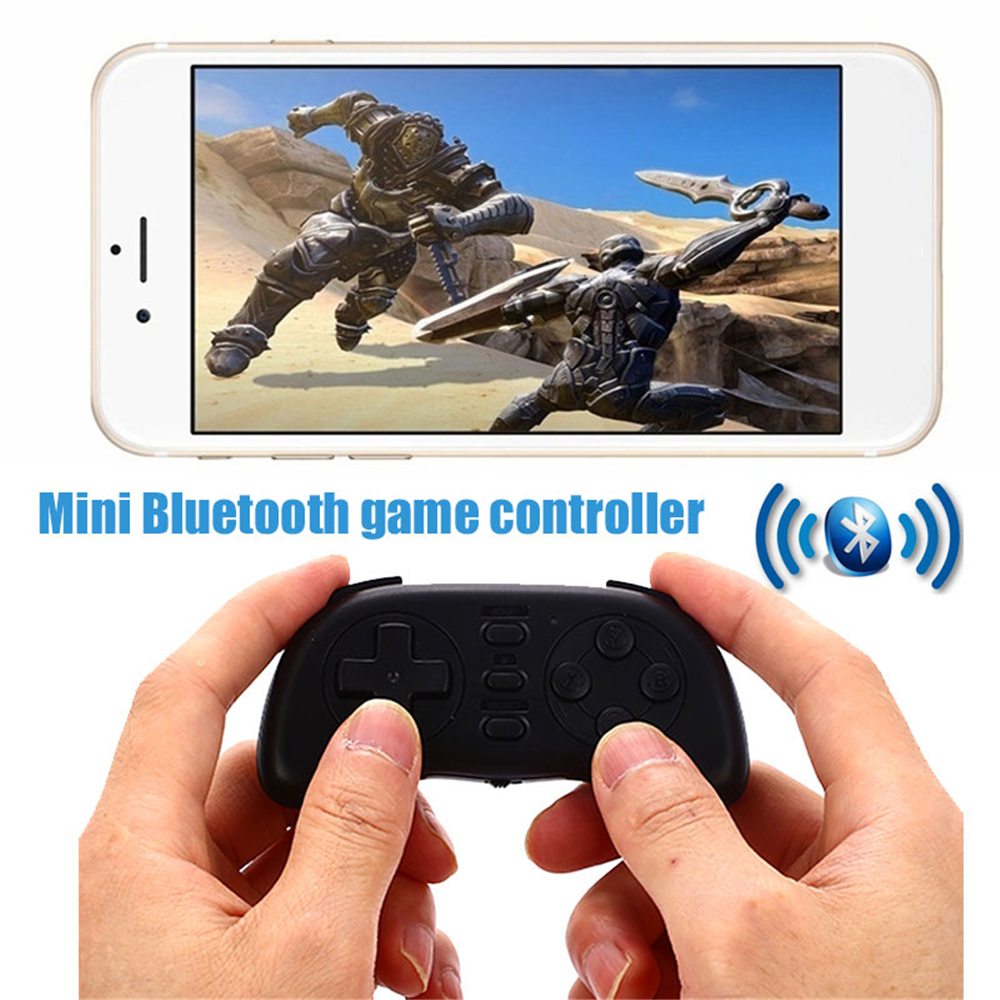 Cewaal Portable Mini Bluetooth Handle Joystick Wireless VideoGame Controller Gamepad for ...
