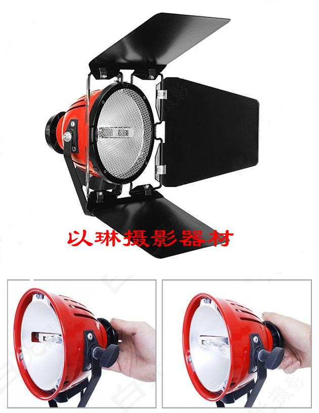Adearstudio free shipping 800w red light blub soft light video light  red blub NO00D adearstudio adearstudio vl s08led video light set dimming lighting lamp battery