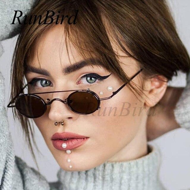 9987061948c Small Round Steampunk Sunglasses Men Women Retro Metal Clip on Steam Punk  Sun Glasses for Male