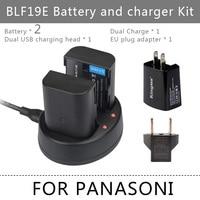 DMW BLF19PP BLF19PP BLF19 BLF19E Camera Battery For Panasonic Lumix DMC GH3 GH3 BLF19PP Free Shipping