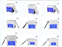 free shipping Stainless Steel Ultrasonic Cleaner Bath jewelry cleaing machine with free basket