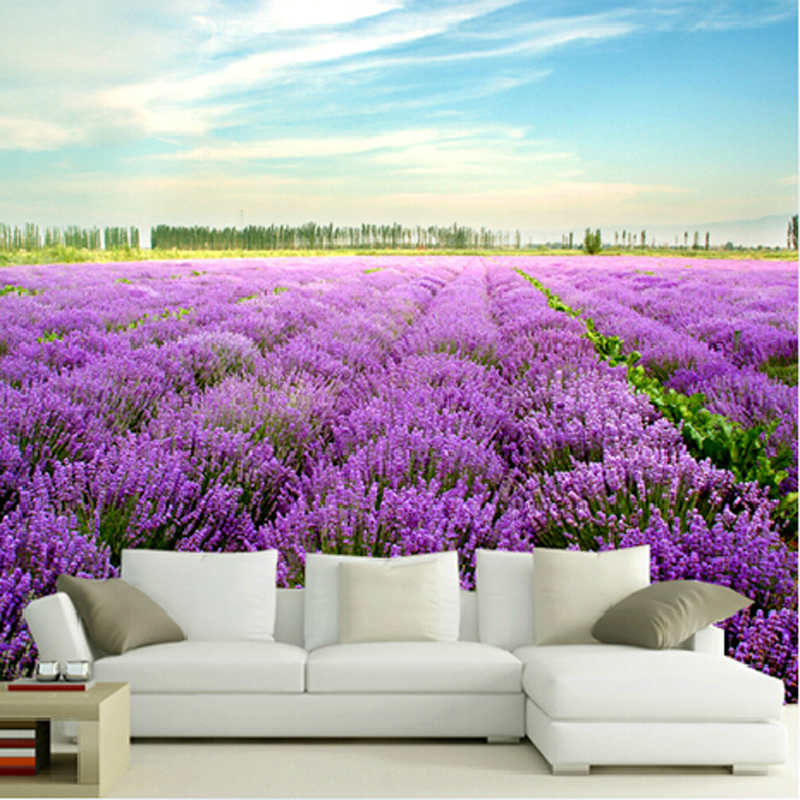 Awesome Lavender Wallpaper For Bedroom 24