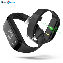 TimeOwner New Fitness Bracelet Pulsometer Smart Wristband Heart Rate Monitor Smart Band for IOS Android Phone