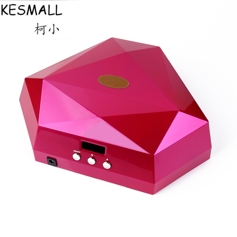 KESMALL Double Hands Nail Dryer Multifunction UV LED Nail Lamp For Hands or Feet Nail Art Tools For Nail Gel Polish CO354 mdskl 48w led uv lamp nail dryer self clocking a minute of rapid drying golden electric nail art tools exemption from postage