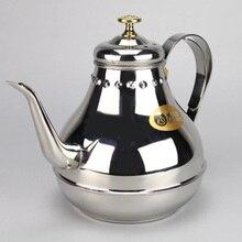 Кофеварка 1.2L/1.8L из нержавеющей стали с длинным горлышком, чайник для молока, кухонный инструмент, перколяторы, кофейник, пресс, мини-Кофеварка