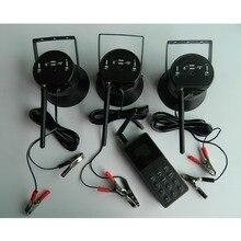 오리 사냥 미끼 조류 발신자 트랩 사운드 장치 전자 조류 플레이어 원격 컨트롤러 3*50 w 스피커