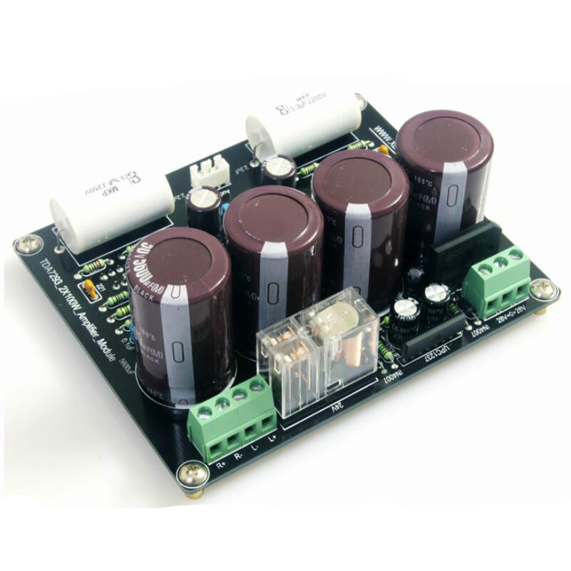 GHXAMP TDA7293 2*100W 2.0 Amplifier Board High power Stereo Current Feedback Type Power Amplifier Finished Board 1PC матрас dreamline springless soft slim 90х195 см