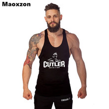 Maoxzon Men's Fitness Workout Tank Tops For Boys Print Summer Casual Muscle Gymnasium Sleeveless Shirt Tanks Bodybuilding Vests