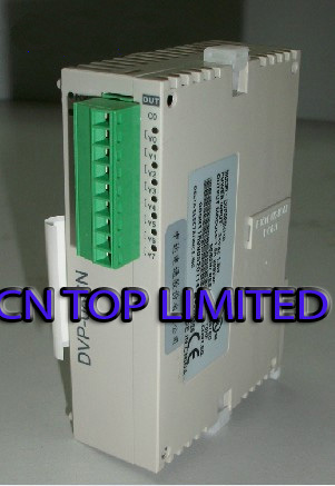DVP08SN11R Delta S Series PLC Digital Module DO 8 Relay new in box s plc 6es7214 1ad23 0xb0 new in box