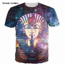 PLstar Cosmos Brand 3D T Shirt Pharaoh of Egypt Print Men Women Tshirt Mummy Painting T-shirt Tee Tops Plus size S-5XL Dropship(China)
