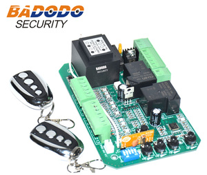 Image 3 - Sliding gate opener AC motor control unit PCB controller circuit board electronic card with pedestrian mode soft start
