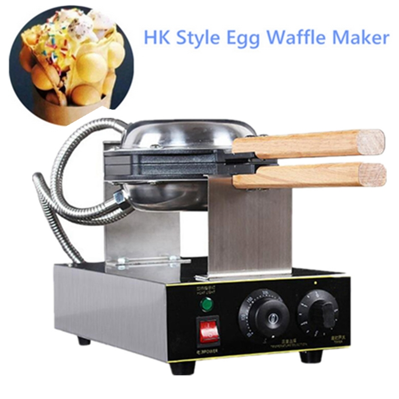 Best Sale Eggette Waffle Machine Egg Waffle Kitchen Appliance Electric Type Egg Puff Waffle Maker Baker directly factory price commercial electric double head egg waffle maker for round waffle and rectangle waffle