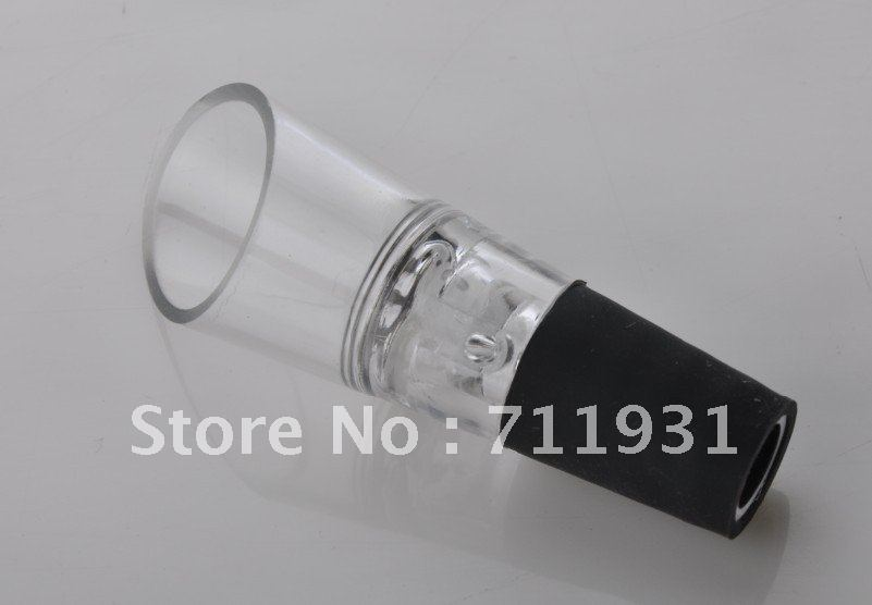 WOWSHINE FREE SHIPING 25pcs/lot Brand New White & RED WINE AERATOR Decanter Pourer IMPROVE FLAVOR For whisky