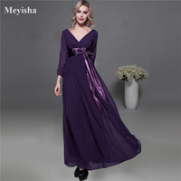 ZJ0059 Purple Grey Royal Blue Elegant Party Plus Size 2017 2018 Formal Plus Size Mother Of