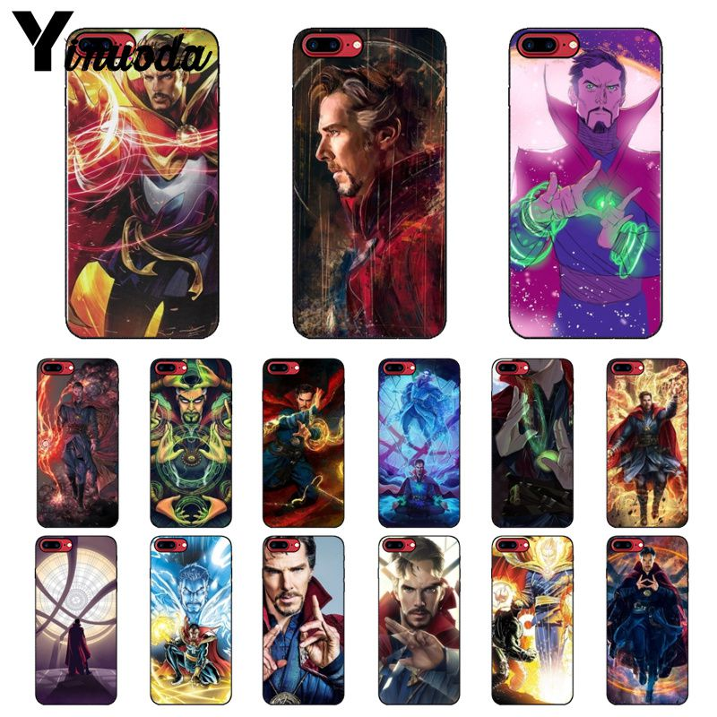 Yinuoda Marvel Doctor Strange Soft Silicone Tpu Phone Cover For Iphone 8 7 6 6s Plus 5 5s Se Xr X Xs Max Coque Shell Good For Antipyretic And Throat Soother Phone Bags & Cases Cellphones & Telecommunications