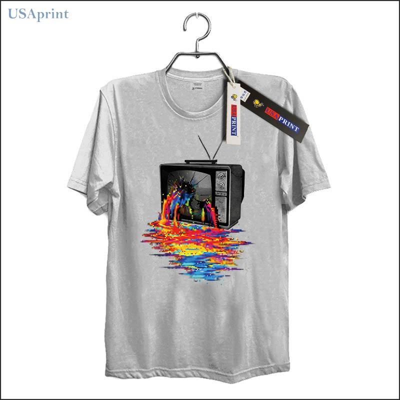 USAprint Harajuku moda hombres 3d camiseta Pixel sobrecarga patrones ...