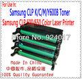 Cartucho de impressora para samsung clp 600/650 impressora laser, uso para samsung clp k/c/m/y600a toner, recarga de toner para samsung clp600
