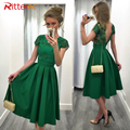 New 2017 spring and summer solid color splicing lace sexy halter dress female