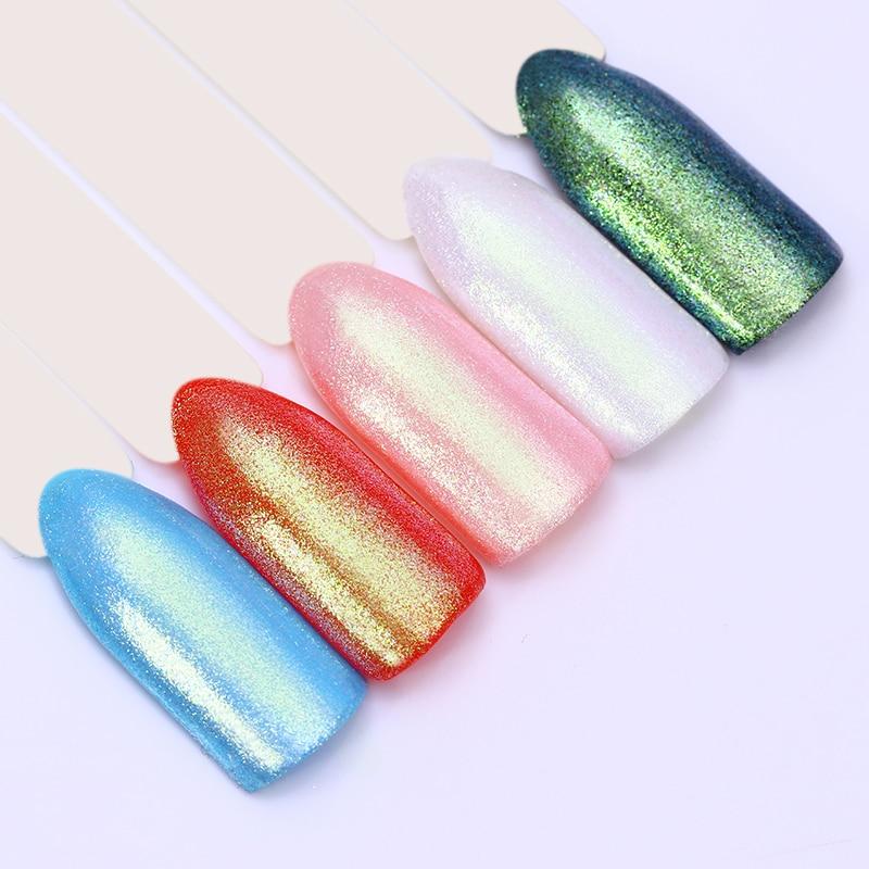 っBORN PRETTY Mermaid Pearl Glimmer Nail Polish Super Shine Glitter ...