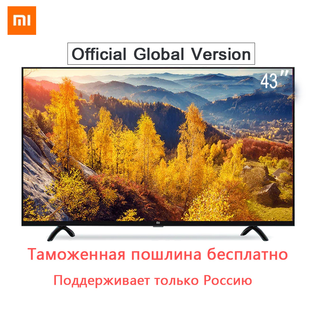 Xiaomi Smart 4A 43 inches 1920*1080 FHD Full HD Screen TV Set HDMI WIFI Ultra-thin 2GB Ram 8GB Rom Game Play Display Dolby Sound