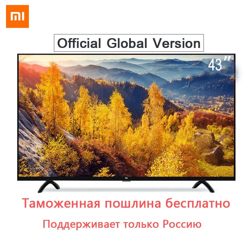 Xiaomi Smart 4A 43 pouces 1920*1080 Écran FHD Full HD TV Ensemble HDMI WIFI Ultra-mince 1 gb Ram 8 gb Rom Jeu Jouer Affichage Son Dolby