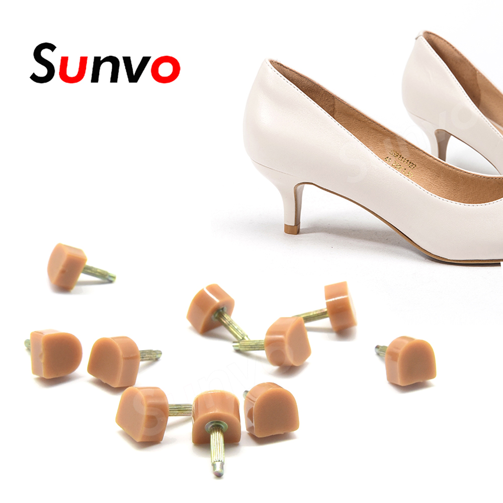 10pcs Heel Protectors For Women High Heels Shoes Anti-slip Stiletto Replacement Repair Cover Pads Lady Shoe Care Accessories