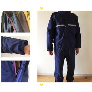 Image 3 - 1PCS Waterproof Windproof Conjoined Raincoats Overalls Electric Motorcycle Fashion Raincoat Men And Women  Rain Suit Rainwear