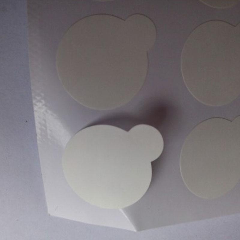 Disposable eyelash eyelash extension plastic clip plastic mat tray stand on eyelash jade stone is small in size 2.5 cm