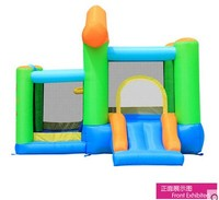 Free Shipping Child Inflatable Trampoline Naughty Fort Household Slide Ocean Pool Combination Big Trampoline