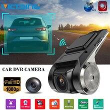 VicTsing 1080P Car DVR Camera Video Recorder WiFi ADAS G-sensor Recorder Android Auto Digital Video Recorder Dash Cam Full HD цена 2017