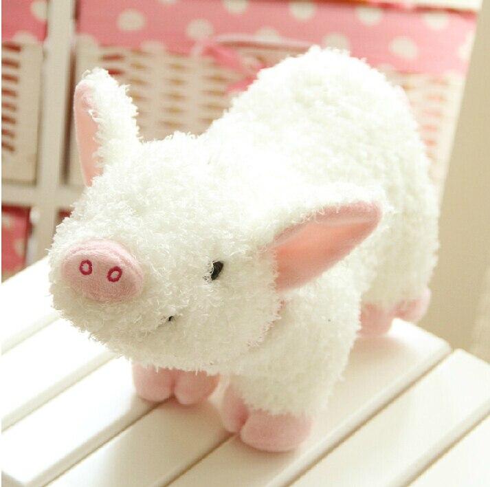 Super Kawaii <font><b>Pig</b></font> <font><b>Plush</b></font> Toy <font><b>Lovely</b></font> Cute Anime stuffed Toys High Quality Home Decors Baby Toy Kid Toy Gift