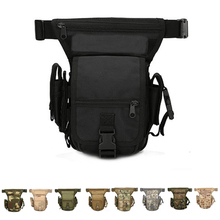 Molle Leg Bag Military Tactical Waist Pack Leg Drop Bags Hiking Hunting Camping Cycling Waterproof Belt Bag molle leg bag military 1000d nylon tactical waist pack leg travel belt bag hiking hunting camping cycling waterproof